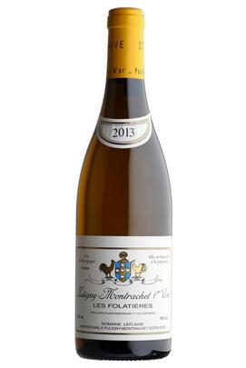 2013 Puligny-Montrachet, Les Folatières, 1er cru, Domaine Leflaive, Burgundy