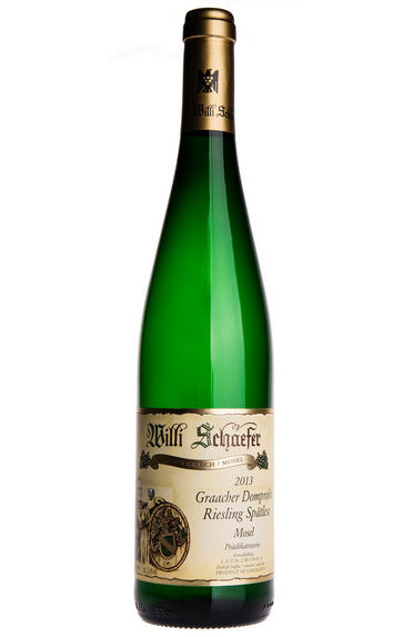 2013 Graacher Domprobst, Riesling Spätlese #5, Willi Schaefer, Mosel