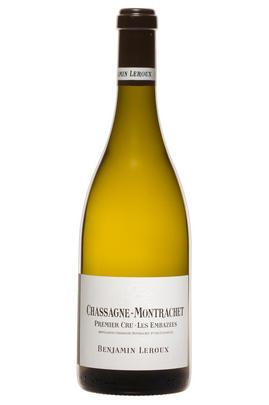 2013 Chassagne-Montrachet, Les Embazées, 1er Cru, Benjamin Leroux, Burgundy