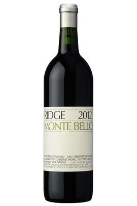 2013 Ridge Vineyards, Monte Bello, Santa Cruz Mountains, California, USA