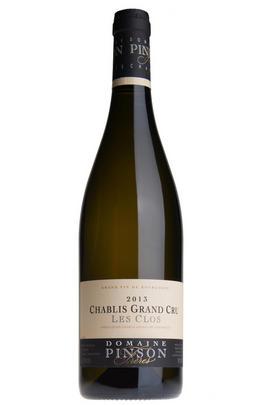2013 Chablis, Les Clos, Grand Cru, Domaine Pinson Frères, Burgundy