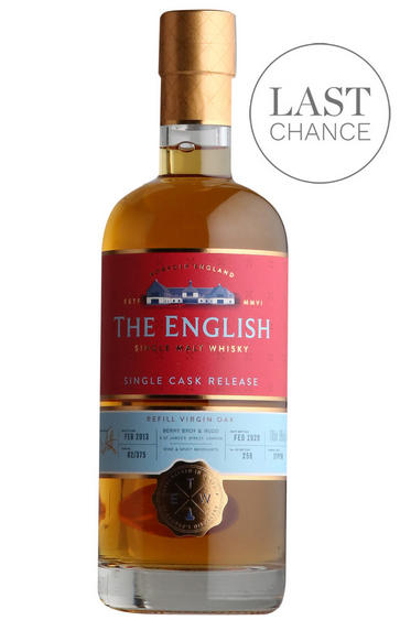 2013 The English Whisky, Peated Refill Virgin Oak, English Whisky, (58%)
