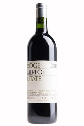2014 Ridge Vineyards, Estate Merlot, Santa Cruz Mountains, California, USA