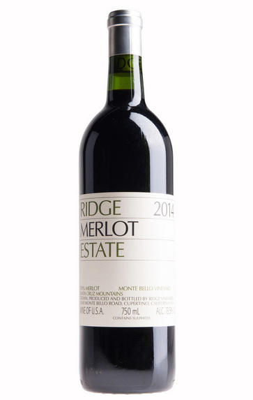 2014 Ridge Vineyards, Estate Merlot, Santa Cruz Mountains, California, USA