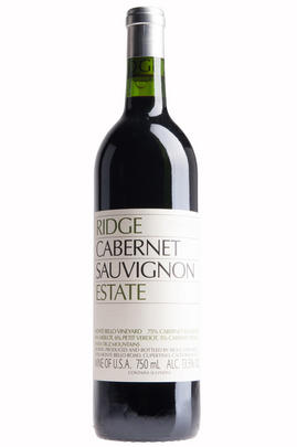 2015 Ridge Vineyards, Estate Cabernet Sauvignon, Santa Cruz Mountains, California, USA