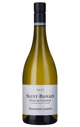 2015 St Romain Blanc, Sous le Château, Benjamin Leroux, Burgundy