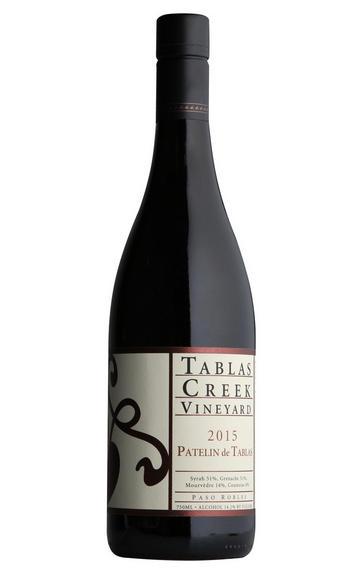 2015 Tablas Creek Vineyard, Patelin de Tablas Red, Paso Robles, California, USA