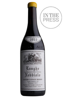 2015 Langhe Nebbiolo, Ester Canale Rosso, Giovanni Rosso, Piedmont, Italy