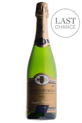 2015 Domaine Régine et Gilbert Brigand, Crémant de Bourgogne, Carte d'Or, Brut