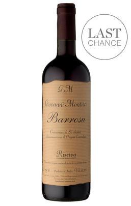 2015 Barrosu, Cannonau di Sardegna, Giovanni Montisci, Sardinia, Italy