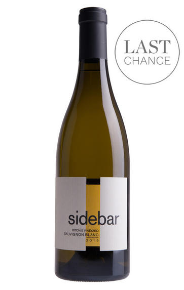 2015 Sidebar, Ritchie Vineyard Sauvignon Blanc, Russian River Valley, Sonoma County, USA