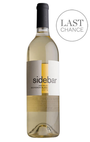 2015 Sidebar, Sauvignon Blanc, High Valley, Lake County, California, USA