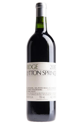 2015 Ridge Vineyards, Lytton Springs, Dry Creek Valley, Sonoma County, California, USA
