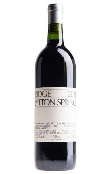 2015 Ridge Vineyards, Lytton Springs, Sonoma County, California, USA