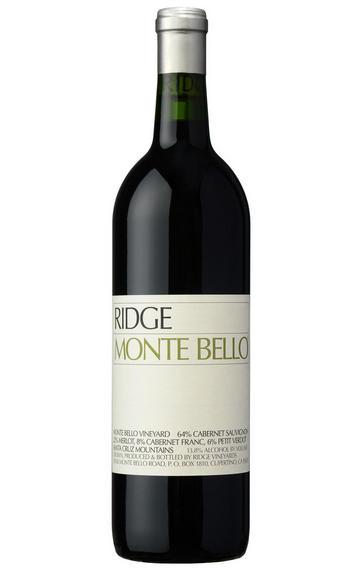 2015 Ridge Vineyards, Monte Bello, Santa Cruz Mountains, California, USA