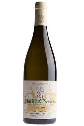 2015 Chablis, Vaillons, 1er Cru, Domaine Gérard Duplessis, Burgundy