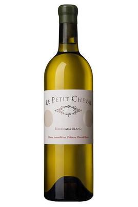 2015 Le Petit Cheval, Bordeaux Blanc