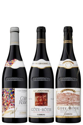 2015 Guigal Trilogy Assortment Case (1Btl each Turque,Landonne,Mouline)