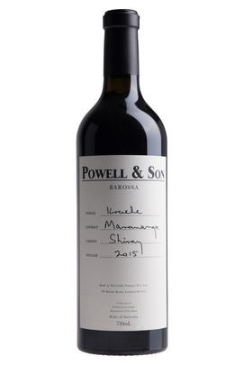 2015 Kraehe Shiraz Powell and Son