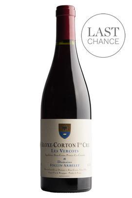 2016 Aloxe-Corton, Les Vercots, 1er Cru, Domaine Follin-Arbelet, Burgundy