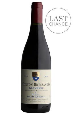2016 Corton-Bressandes, Grand Cru, Domaine Follin-Arbelet, Burgundy