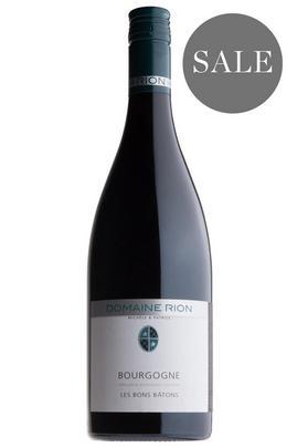 2016 Bourgogne Rouge, Les Bons Bâtons, Domaine Michèle & Patrice Rion