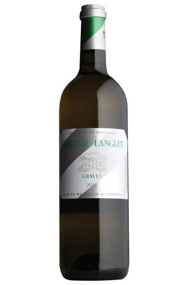 2016 Château Langlet Blanc, Graves, Bordeaux