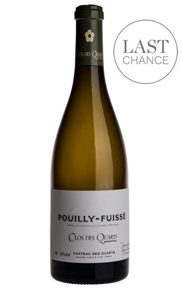 2016 Pouilly-Fuissé, Clos des Quarts, Château des Quarts, Burgundy