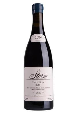 2016 Storm, Ridge, Pinot Noir, Hemel-en-Aarde Valley, South Africa