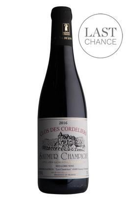 2016 Saumur-Champigny, Tradition, Clos des Cordeliers, Loire