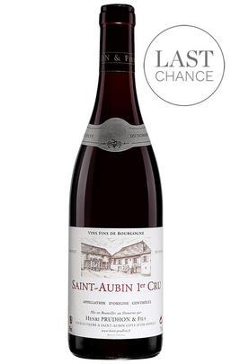 2016 St Aubin Rouge, Les Rouges Gorges, 1er Cru, Domaine Henri Prudhon, Burgundy