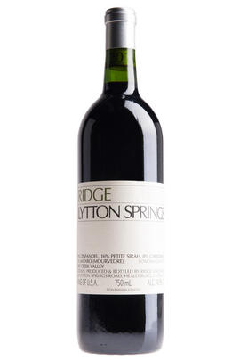 2016 Ridge Vineyards, Lytton Springs, Sonoma County, California, USA