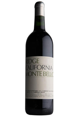 2016 Ridge Vineyards, Monte Bello, Santa Cruz Mountains, California, USA