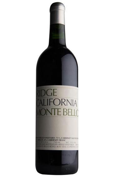 2016 Ridge Vineyards, Monte Bello, Santa Cruz Mountains, California, USA