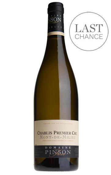 2016 Chablis, Mont-de-Milieu, 1er Cru, Domaine Pinson