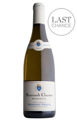 2016 Meursault, Les Charmes, 1er Cru, Domaine Bitouzet-Prieur, Burgundy