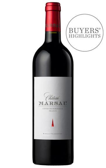 2016 Château Marsau, Francs - Côtes de Bordeaux