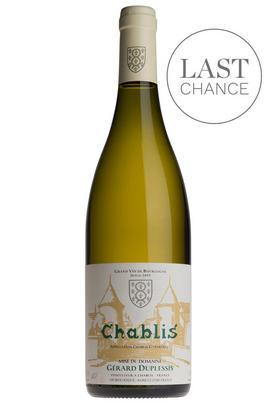 2016 Chablis, Domaine Gérard Duplessis, Burgundy