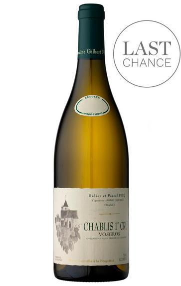 2016 Chablis, Vaucoupin, 1er Cru, Didier & Pascal Picq, Burgundy