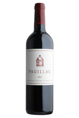 2016 Pauillac de Château Latour, Pauillac, Bordeaux