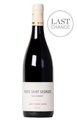 2016 Nuits-St Georges, Aux Herbues, Domaine Guyon, Burgundy