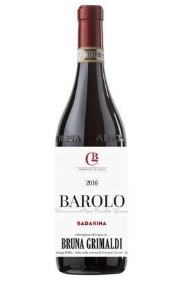 2016 Barolo, Badarina, Bruna Grimaldi, Piedmont, Italy