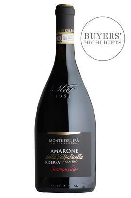 2016 Amarone Classico, Scarnocchio, Riserva, Monte del Frà, Veneto, Italy
