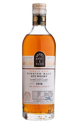 2016 Berry Bros. & Rudd Kyrö, Cask No. 16037, Malt Rye Whiskey, Finland (54.6%)
