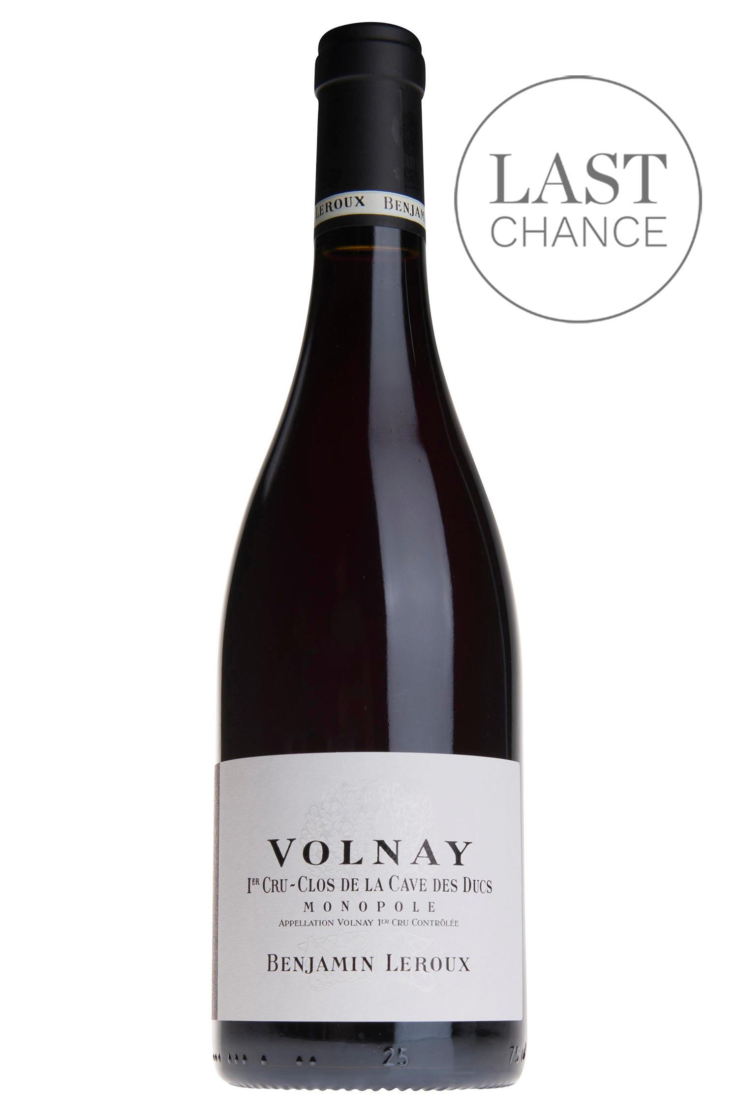 Buy 2017 Volnay Clos De La Cave Des Ducs 1er Cru Benjamin Leroux Burgundy Wine Berry Bros Rudd