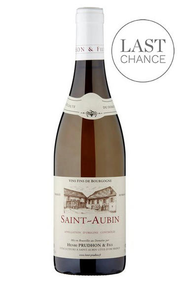 2017 St Aubin Blanc, Le Ban, Domaine Henri Prudhon, Burgundy