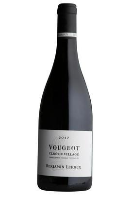 2017 Vougeot, Clos du Village, Benjamin Leroux, Burgundy