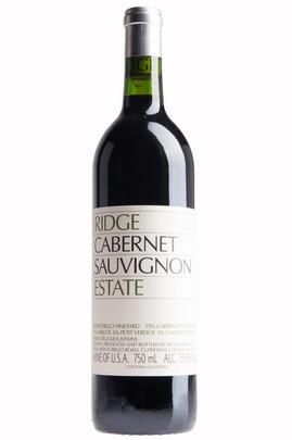 2017 Ridge Vineyards, Estate Cabernet Sauvignon, Santa Cruz Mountains, California, USA