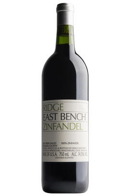 2017 Ridge Vineyards, East Bench Zinfandel, Dry Creek Valley, Sonoma County, California, USA