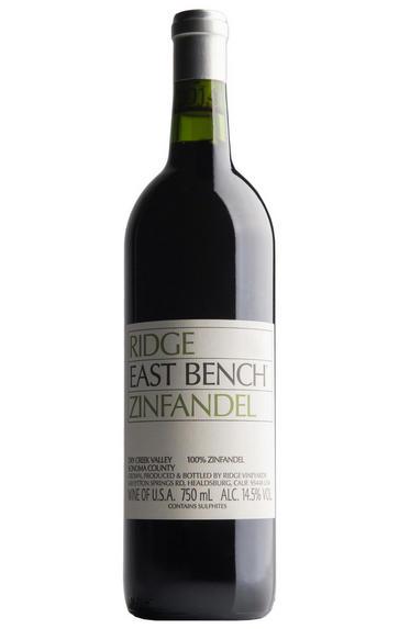 2017 Ridge Vineyards, East Bench Zinfandel, Dry Creek Valley, Sonoma County, California, USA